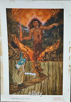 Michael Hagueoriginal Published Final Artworkthe Hobbitthe Lord Of The Rings