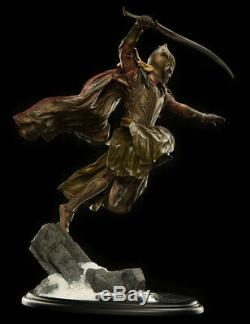 Mirkwood Elf Soldier 16 Scale Statue Hobbit Lord of the Rings Limited Ed -NEW