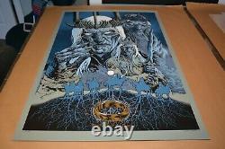 Mondo Print Mondo Poster- Mike Sutfin Servants of Sauron (Lord of the Rings)