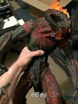 NECA BALROG Lord of the Rings Toy Biz Electronic. 25 tall! 1/12 scale