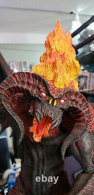NECA Lord of the Rings 25 Electronic Balrog LE LOOSE Read Desc