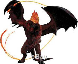 NECA Lord of the Rings Balrog 25 Electronic Action Figure NEW (NEVER ASSEMBLED)