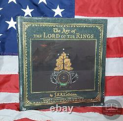 NEW SEALED Art of the Lord of the Rings JRR Tolkien Easton Press Leather Hobbit