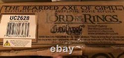 NEW & SEALED Bearded Axe of Gimli United Cutlery UC2628 Lord of the Rings