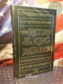 NEW SEALED The Lord of the Rings Trilogy by J. R. R. Tolkien Easton Press Leather