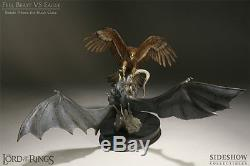 NIB Sideshow Lord of the Rings Battle Above the Black Gate- Fell Beast vs. Eagle