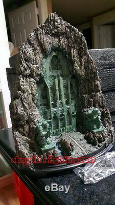 New Lord of The Rings The Gate Of Lonely Mountain Erebor Large Statue GK Model