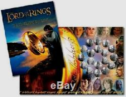 New Zealand -2003- 18 Coin Set- Lord of the Rings! Rare