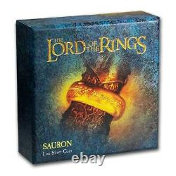 Niue 2021 1 OZ Silver Proof Coin- Lord of The Rings Sauron