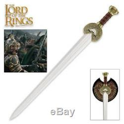 Officially Licensed Lord of the Rings Herrugrim Sword King Theoden Rohan LOTR