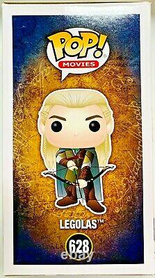 Orlando Bloom Legolas Signed Funko Pop #628 Lord of the Rings Beckett Witnessed