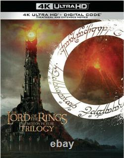 PRE-ORDER The Lord of the Rings The Motion Picture Trilogy New 4K UHD Blu-ray
