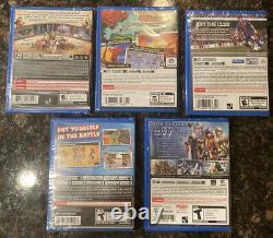Ps Vita Game Lot 5 New Vita Games Lego Lord Of The Ring, Ragnarok Odyssey, Rayman