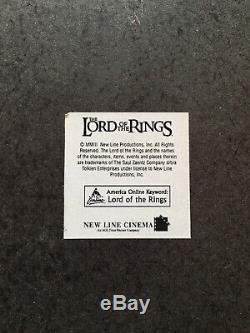RARE LOTR United Cutlery UC1371 Elven Knife of Strider Lord of the Rings
