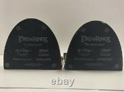 Rare Sideshow Weta LOTR The Lord Of The Rings NO ADMITTANCE Bookends Statue