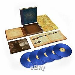 SHIPS FAST 5-LP Blue Vinyl Lord Of The Rings Two Towers Soundtrack Howard Shore