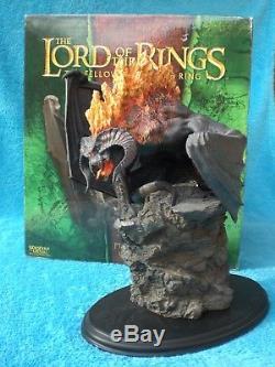 SIDESHOW WETA Herr der Ringe BALROG FLAME OF UDUN Statue Lord of the Rings R