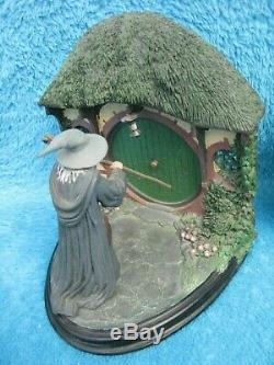 SIDESHOW WETA Herr der Ringe BUCHSTÜTZEN Bookends Lord of the Rings LOTR RAR
