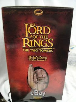 SIDESHOW Weta HELM'S DEEP Environment LORD OF THE RINGS Figure STATUE HOBBIT