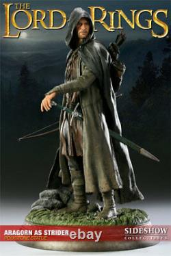 Sideshow ARAGORN STRIDER Exclusive Statue Lord Of The Rings LotR Hobbit SEALED