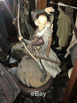 Sideshow Collectibles LEGOLAS EXCLUSIVE 1/6 STATUE WETA Lord Of The Rings LOTR