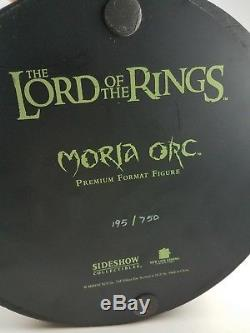 Sideshow Collectibles Lord of the Rings Moria Orc Premium Format 14 Scale