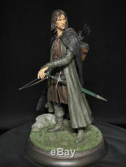 Sideshow Lord Of The Rings Aragorn As Strider Statue Exclusive Hobbit Weta
