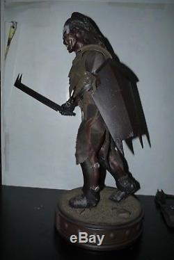 Sideshow Lord Of The Rings Uruk Hai Orc Lurtz Premium Format 1/4 STATUE 720/1250