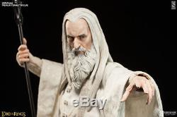 Sideshow LotR SARUMAN Exclusive Figure Statue Lord of the Rings Hobbit Sealed