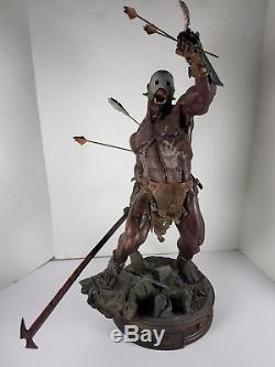 Sideshow Premium Format Statue Lord Of The Rings Two Towers Uruk-Hai Berserker