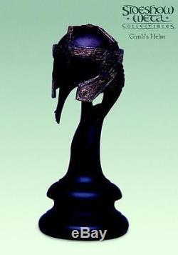 Sideshow Weta GIMLI'S HELM Lord of the Rings LotR Helmet 1/4 Scale Rare Gimli