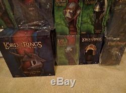 Sideshow Weta HELM LOT Troll Elven Orc Elessar Sam Lord of the Rings LotR Hobbit