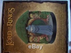 Sideshow Weta Lord Of The Rings Gandalf And Bilbo Bookends New In Box