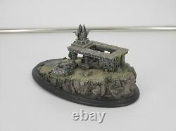 Sideshow Weta Lord of the Rings Amon Hen Polystone Environment