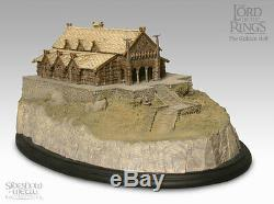 Sideshow Weta THE GOLDEN HALL Environment Lord of the Rings LotR Hobbit New
