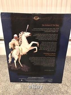 Sideshow weta LOTR, Gandalf The White On Shadowfax Statue Lord of the Rings