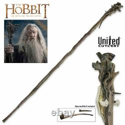 Staff of Gandalf the Grey FULL SIZE Lord of the Rings LOTR Hobbit UC3108 United