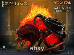 Star Ace Balrog 2.0 Light Up Vinyl Defo Real Figure Lord of the Rings In Stock