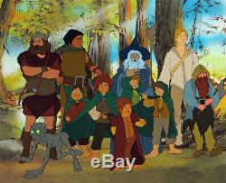 THE LORD OF THE RINGS ORIGINAL BAKSHI LIMITED EDITION PRINT with Free Autograph