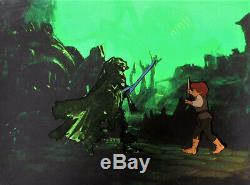 THE LORD OF THE RINGS ORIGINAL RALPH BAKSHI ANIMATION CELS + Free Autograph