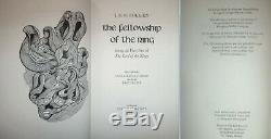 THE LORD OF THE RINGS +THE HOBBIT +THE SILMARILLION by JRR Tolkien Folio Society