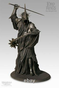 THE MORGUL LORD (WITCH-KING) LORD OF THE RINGS Sideshow Weta 9338 RAR & NEU