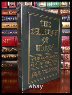 The Children Of Hurin by J. R. R. Tolkien Sealed Easton Press Leather Lord Rings