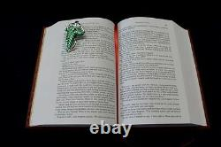 The Complete Lord Of The Rings Red Book Of Westmarch Leatherbound Book Replica