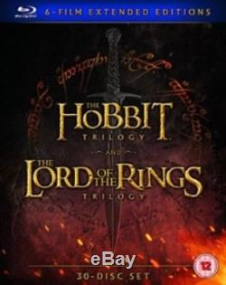 The Hobbit 1 2 3 The Lord of the Rings 1 2 3 Extended Region B Blu-ray Box Set