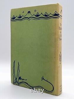 The Hobbit FIRST EDITION TOLKIEN 1937 Lord of the Rings 17th Print 1967