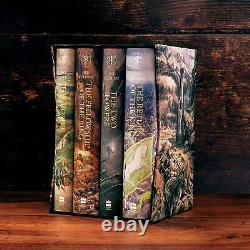 The Hobbit & The Lord Of The Rings Boxed Set by J. R. R Tolkien NEW Hardcover 2020