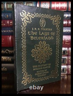 The Lays Of Beleriand by Tolkien Sealed Easton Press Lord Rings Leather Hardback