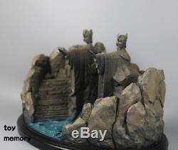 The Lord Of The Rings Hobbit Gates Of Argonath Gate of Kings Statue Figure