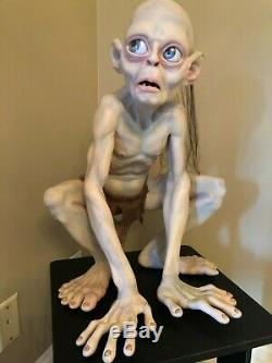 The Lord Of The Rings Lifesize Gollum (smeagol) From Two Towers Very Rare